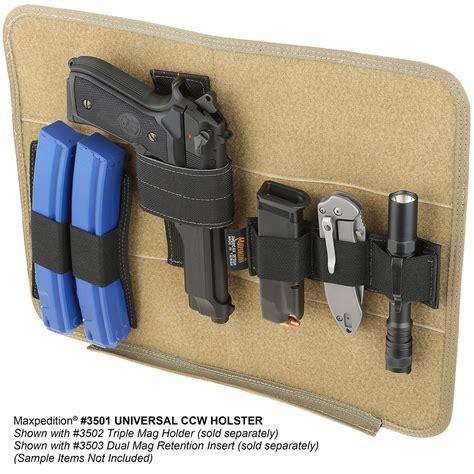 maxpedition universal ccw holster maxpedition hook loop universal modular holster free