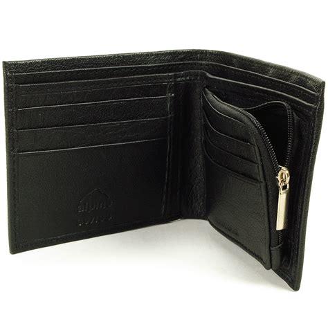 Wallet Zipper alpine swiss mens leather wallet zipper coin pocket 2