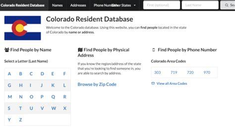 Colorado Voter Registration Records Creator Of Website Revealing Colorado Voters