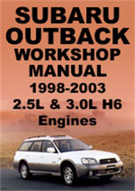 motor repair manual 2003 subaru outback auto manual subaru outback 1998 2003 workshop manual