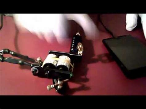 tattoo gun manual how to put a tattoo machine together youtube