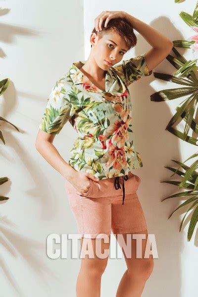 Celana Pendek Flower til gaya dengan motif floral dan tropikal