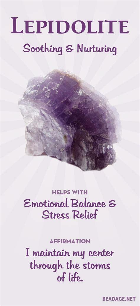 lepidolite meaning  properties crystal healing stones