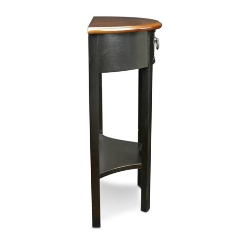 demilune accent table leick favorite finds demilune accent table in slate 9030 sl