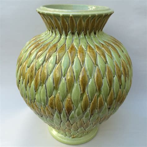 Tuscan Vases tuscan vase with applied leaves italian pottery outlet