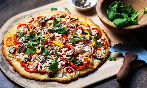 vegetables pizza roasted vegetable pizza