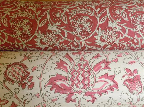 home decor material laura kiran hand printed coordinated home decor fabrics