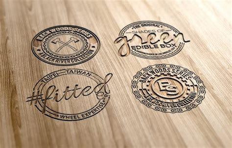 rubber st logo maker make professional badge and vintage logo by asi graphics