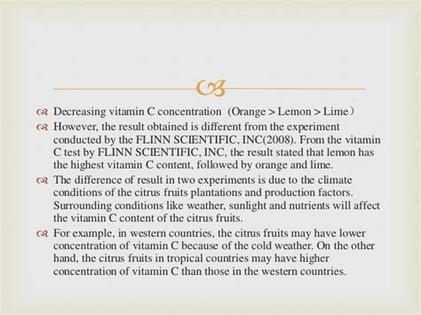 Concentration C Essay by Vitamin C Essay Eyeofthedaygdc Web Fc2