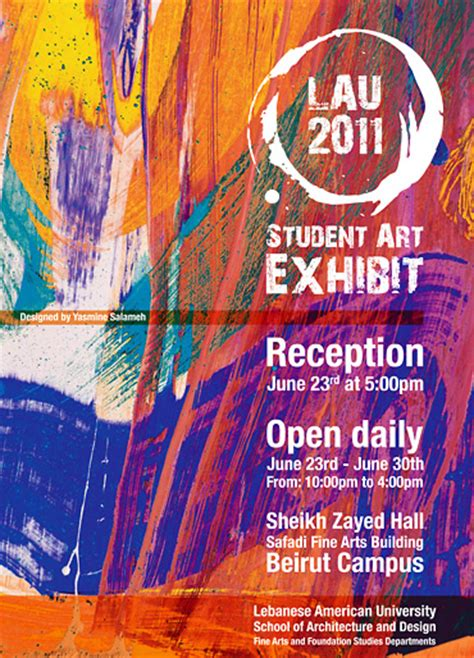 poster research and exhibition