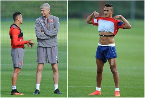 alexis sanchez real height alexis sanchez a football player with model s body