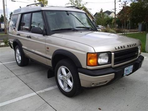 small engine repair training 2001 land rover discovery series ii parking system 2001 land rover discovery series ii information and photos momentcar