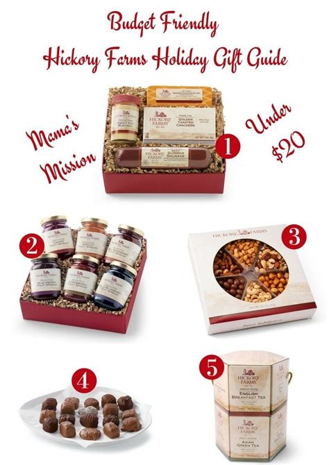 budget friendly hickory farms holiday gift guide under 20