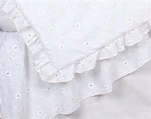 Eyelet Crib Bedding White Eyelet Crib Bedding Set By Sweet Jojo Designs 9 Blanket Warehouse