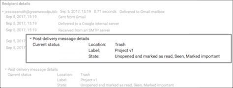 Email Details Search See The Status Of A Gmail Message After It S Been Delivered Comprompt Solutions Llp