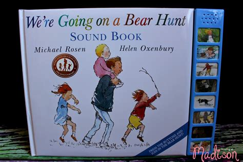 noises we books we re going on a hunt sound book annmarie