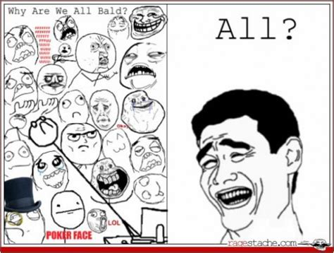 Meme Comic Character - all rage comic characters bald redgage