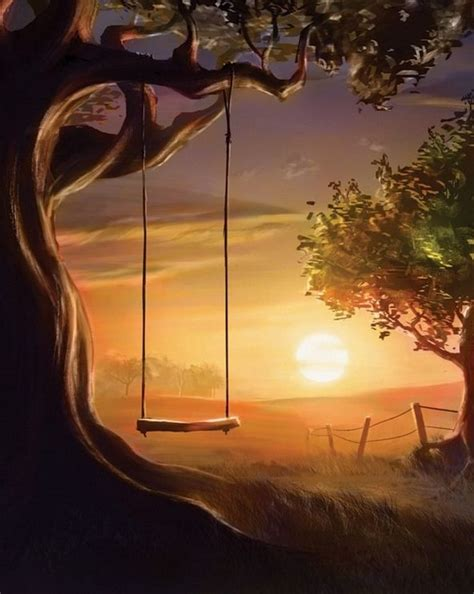 swing painting a lost friend by e will digital art drawings paintings