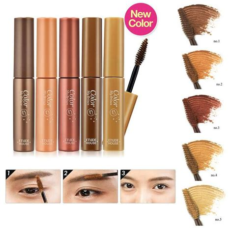 Etude House Color My Brow 4 5gr review etude house color my brows no 5 blondie brown