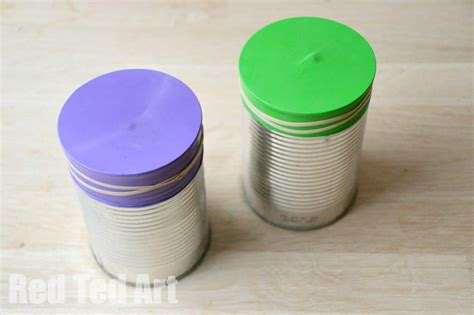 tin can crafts for tin can drums ted s