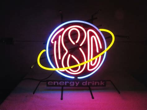 energy drink 180 bull 180 energy drink neon collectible nex tech