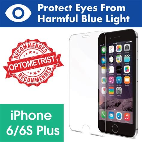 blue light filter iphone 6 iphone 6 6s plus tempered glass screen protector with blue