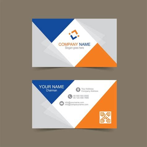 plain business card template ai free business card template for illustrator wisxi