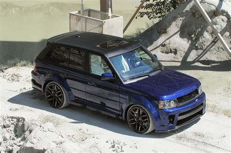 land rover sport custom cdc performance range rover sport nighthawk car tuning