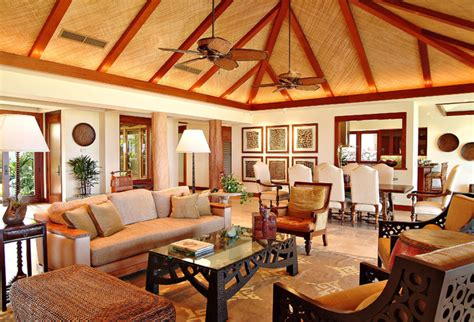 tropical style living room living room tropical living room san francisco by