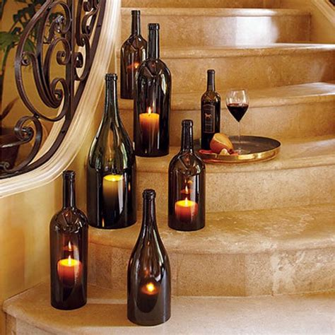 Wine Bottle Decoration by The Creative Use Of Wine Bottles Wine Bottles
