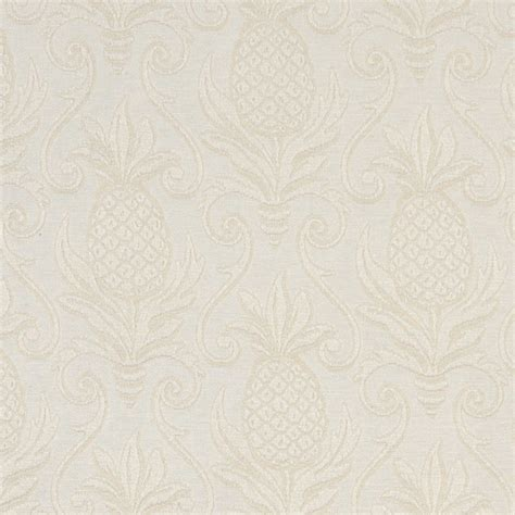 matelasse upholstery fabric ivory white pineapples woven matelasse upholstery grade