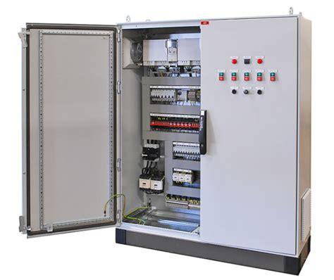 Plc Cabinet by Computerised Plc System Installed In Ip54 Certified