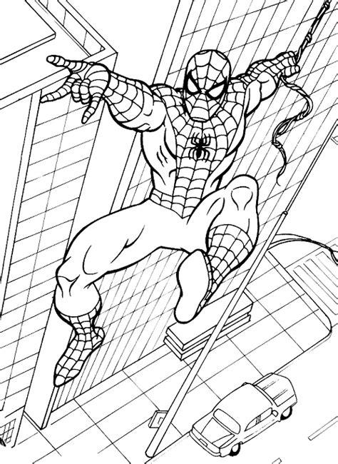 coloriage spiderman spiderman  imprimer gratuit