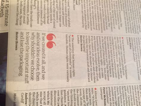 Confirmation Letter Greenwich Selhug Letter In The Guardian