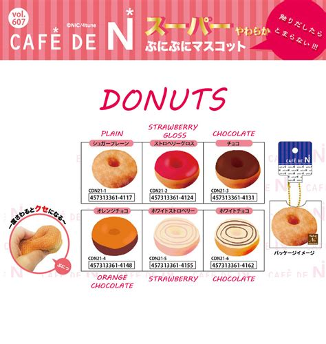 cafe de n squishy shop cafe de n donuts squishy japan