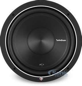 Subwoofer Rockford Fosgate Audio P1s4 12 Punch Single Coil rockford fosgate p1s4 12 500w 12 quot punch p1 series single 4
