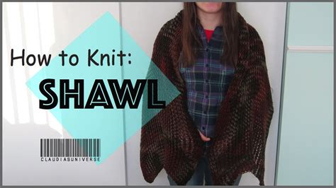 How To Knit A Shawl Loom Knitting