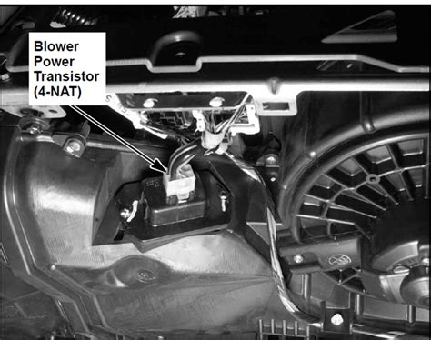how to replace honda fit blower motor resistor my has a 2002 civic 4 dr lx and the heater blower is not working at all she is out of
