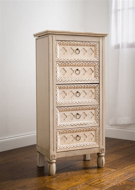 anti tarnish jewelry armoire abby jewelry armoire hives and honey