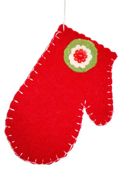 pattern for felt mitten ornament bella dia advent day 23 buying mittens and felted wool