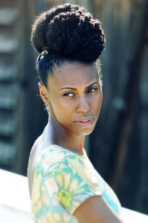 high bun hairstyles black hair 193 best images about 05 natural hair updo bun style on