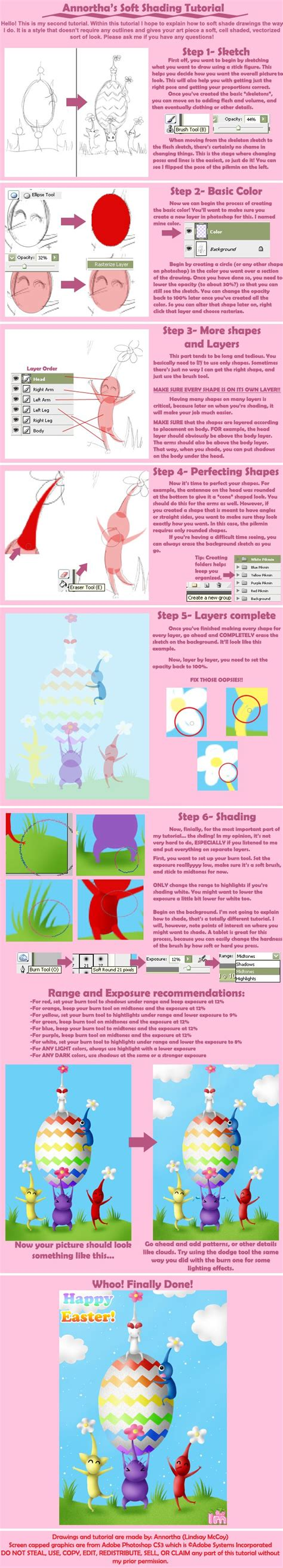 tutorial soft smudge painting soft shading tutorial by annortha on deviantart