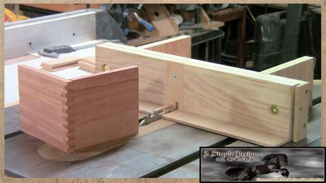 how to finger joints without a table saw build a finger joint jig part 1