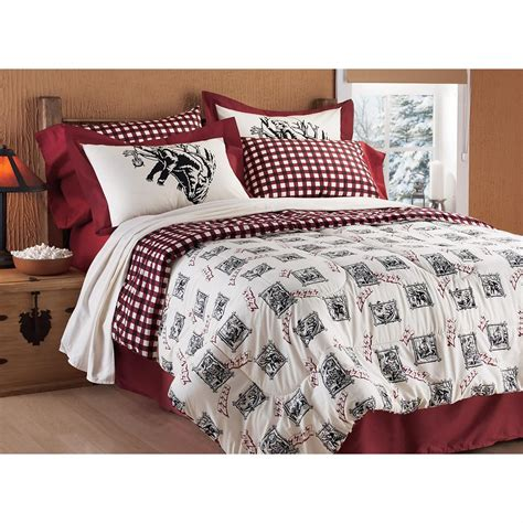 bear comforter snoozing bear reversible comforter set 130288