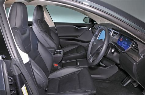 Tesla S Model Interior by Tesla Model S Review 2017 Autocar