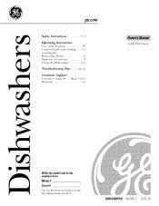 ge dishwasher manual ge gsm18 appliances 18 in dishwasher manual