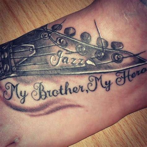 memorial tattoos for brother 19 memorial tattoos for