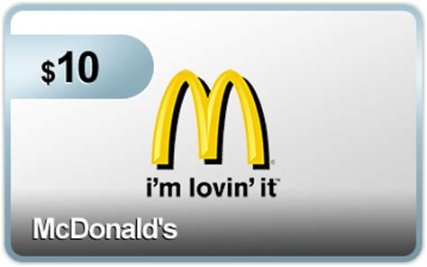 Mcdonals Gift Card - 10 mcdonalds gift card from plink acadiana s thrifty mom
