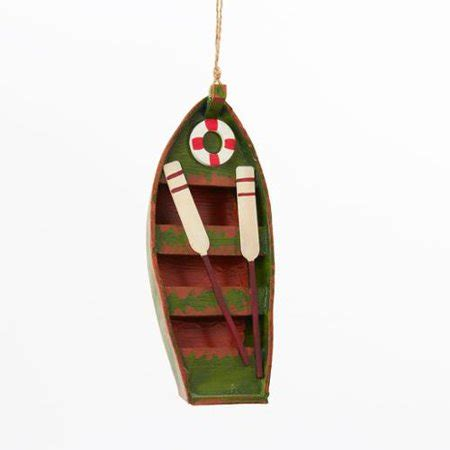 walmart ornaments pack club pack of 12 weathered row boat with oars ornament walmart