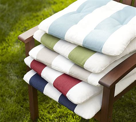 striped patio cushions outdoor patio cushions with summer style
